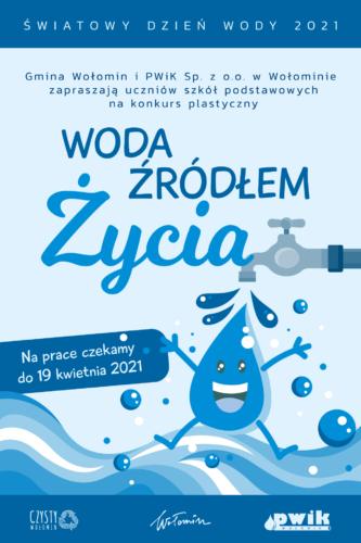 Konkurs plastyczny z okazji Światowego Dnia Wody