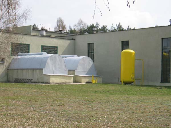 Budynek technologiczny Stacji Uzdatniania Wody, ul. Graniczna